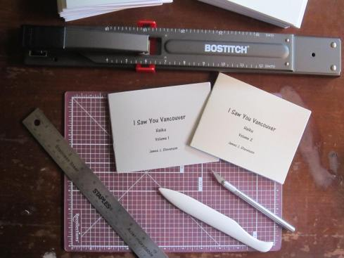 Chapbook-making supplies