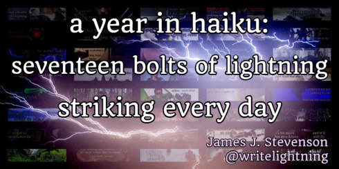 haiku collage lightning